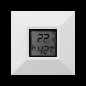 Temperatursensor med display